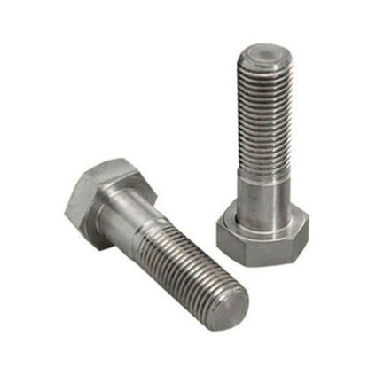 Picture of Stainless Steel Hex Bolts, Hex Head Cap Screw Bolts, 304 S/S Bolts Fastener, Inches Size