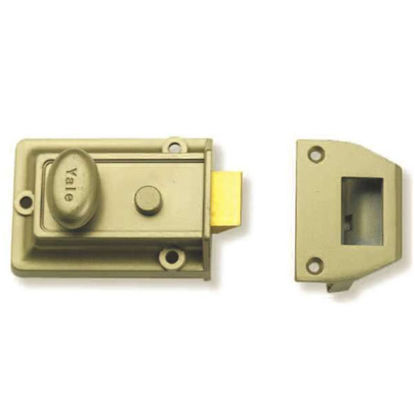 Picture of Rim Locks, Traditional Night Latch Cylinder P77