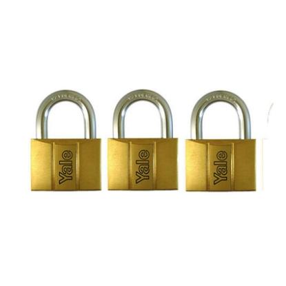 Picture of Brass Padlocks Key Alike 3 Pieces, Multi-Pack V140.40KA3