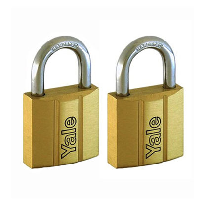 Picture of Brass Padlocks Key Alike 2 Pieces, Multi-Pack V140.30KA2
