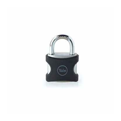 Picture of Yale YE3/25/141/1BK, Long Shackle Aluminum Series Padlock, YE3251411BK