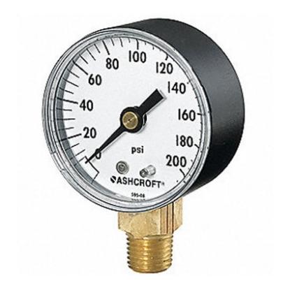 Picture of Harris Acetylene Gauge 500 PSI, 617