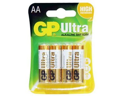 Picture of GP Batteries Ultra Alkaline - AA 4 pcs.