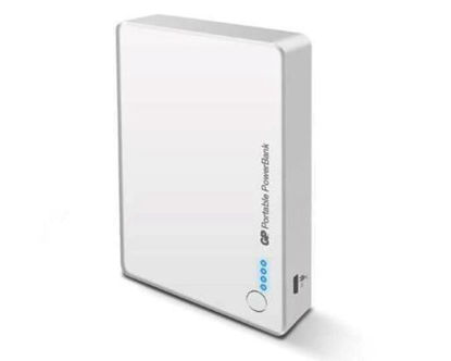 Picture of GP Batteries- DC Power bank portable GP382 (White)