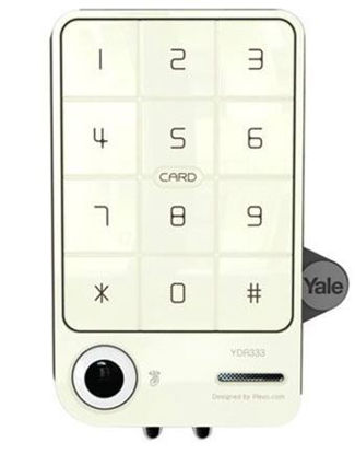 Picture of Yale Digital Door Lock with PIN Code & RF Card Key (Rim Lock) - YDR 333