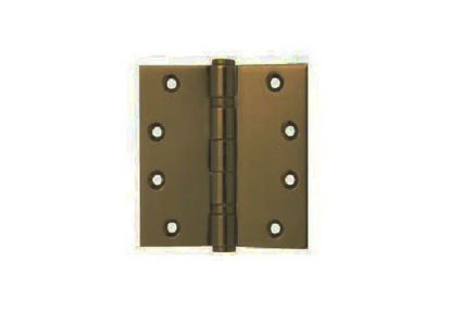 Picture of Yale 2 Ball Bearing Button Tipped Door Hinge 2BB 4X4X2 MM ABSS'