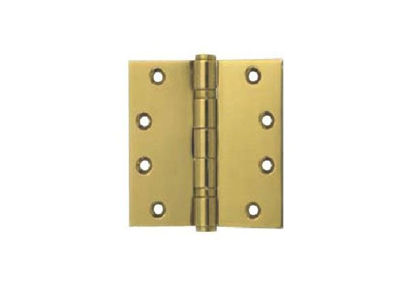 Picture of Yale 2 Ball Bearing Button Tipped Door Hinge 2BB 4x4X2 MM PVDB'
