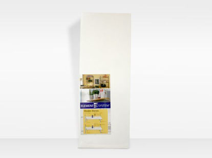 Picture of Element System Wood Shelving 250mm Stipple White