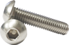 Picture of 304 Stainless Steel Allen Button Head Socket Screws - Inches Size