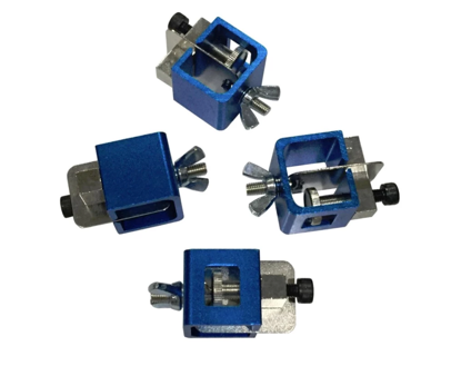 Picture of Licota ATG-4105 Butt Welding Clamp Set (Blue/Silver)