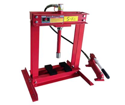 Picture of S-Ks Tools USA JMSP-9004 Hydraulic Shop Press (Black/Red)