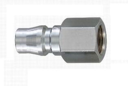 "Picture of THB 1/4"" Zinc Quick Coupler Plug - Female End"