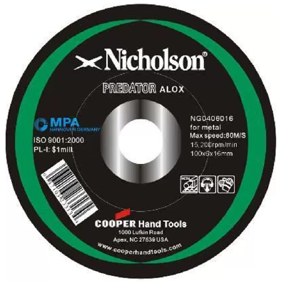 Picture of Nicholson Grinding Disc