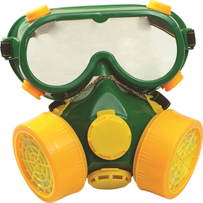Picture of Lotus LRMG002 Respirator (DOUBLE+GOGGLES)