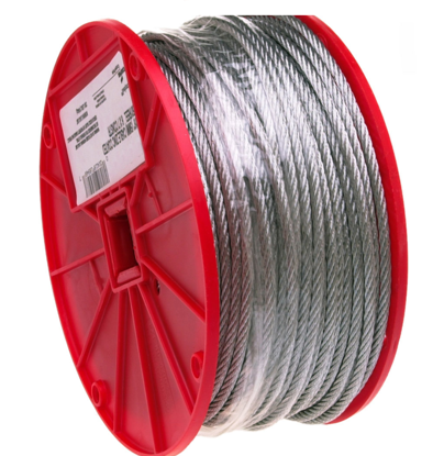 Picture of USA Campbell Wire Cables -High Strength ; Galvanized Finish
