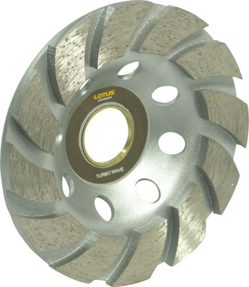 Picture of Lotus LDCW04W Diamond Cup Wheel (Wave)