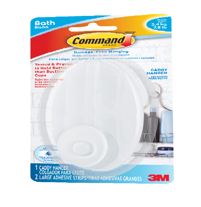 Picture of 3M Command Bath Caddy Hanger