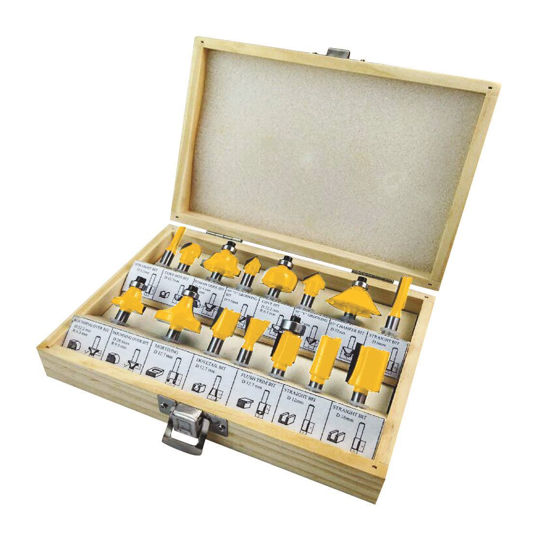Picture of Lotus LRB015 Router Bit Set 15pc
