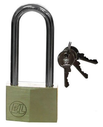 Picture of EL Brass Padlock (Heavy Duty) EL8125