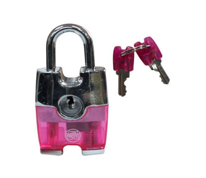 Picture of EL Vinyl Coated Laggage Padlock ELH100