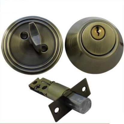 Picture of EL Deadbolt Single (tubular) EL101AB