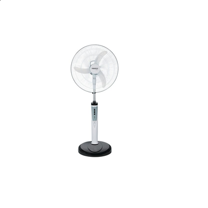 "Picture of Firefly 16"" Oscillating 3-Speed Stand Fan with 6 LED Night Light & USB Mobile Phone Charger FEL631"