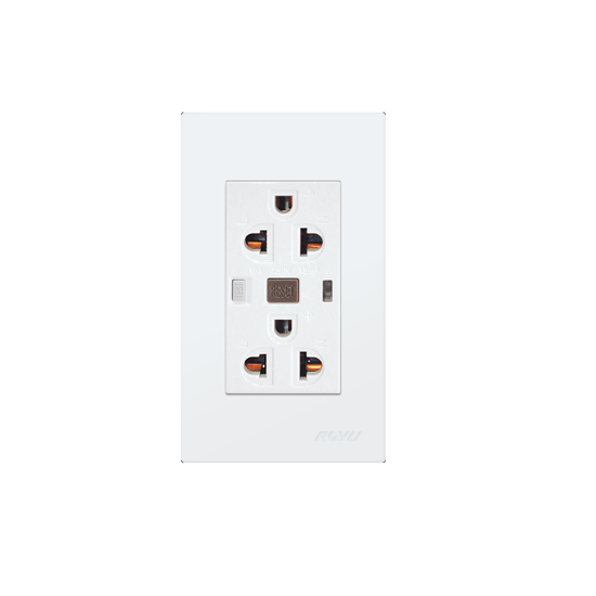 Picture of Royu Duplex GFCI Outlet Set WD932