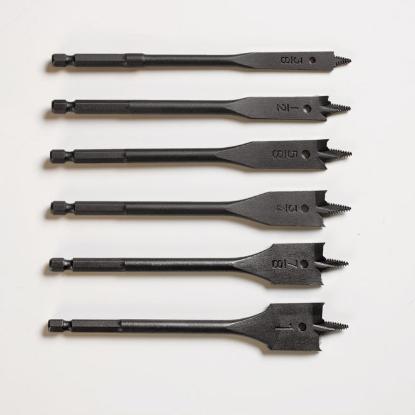 Picture of Lotus Wood Spade Bit Set 6PC LFWS602