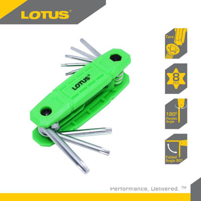 Picture of Lotus Folding Torch Key Set LTHT80FHT