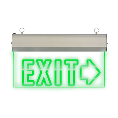 Picture of Exit Sign Right  Arrow (Acrylic) LED/X-200/R