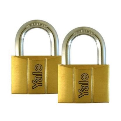 Picture of Brass Padlocks Key Alike 2 Pieces, Multi-Pack V140.40KA2