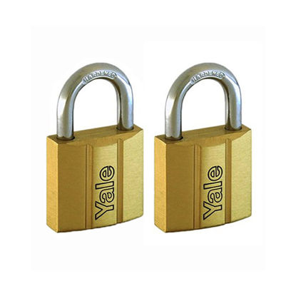 Picture of Brass Padlocks Key Alike 2 Pieces, Multi-pack V140.25KA2
