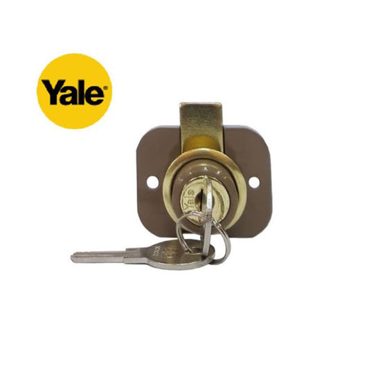 Picture of Yale 9660HE, Two-Hole Drawer Lock, V9660HE