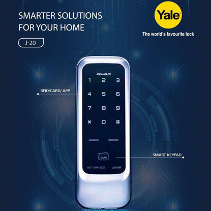 Picture of Yale J20, Digital Door Lock, YALEJ20