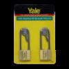 Picture of Yale V140.50 LS90 KA2, Long Shackle Brass Padlocks 140 Series Key Alike 2, V14050LS90