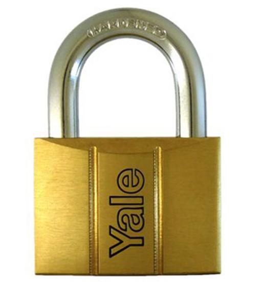Picture of Yale V14060, Brass Padlock 60mm, V14060
