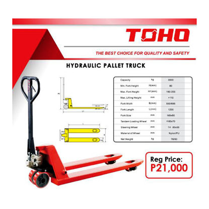 Picture of Toho Hydraulic Pallet Truck, TOH21