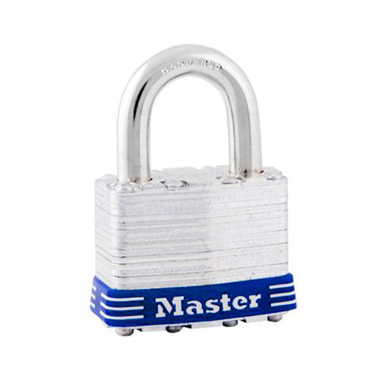 Picture of Master Lock 44MM 24MM Shackle Laminated Steel Padlock, MSP1D
