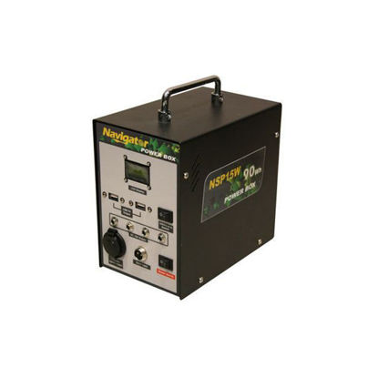 Picture of Navigator Solar Power Box, NVNSP15W