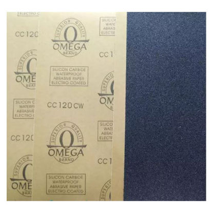 Picture of Omega Waterproof Sand Paper (#36, #60, #80, #100, #120, #150, #180, #220, #240, #280, #320, #360, #400, #600, #800, #1000, #1200, #1500, #2000), #36