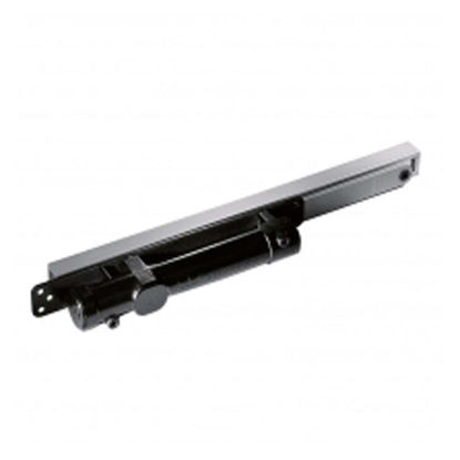 Picture of Dorma Concealed Door Closer with Hold open Silver finish, DMITS96HO